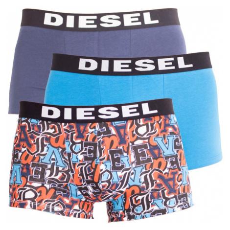 3PACK pánské boxerky Diesel vícebarevné (00SAB2-0JAOY-02)