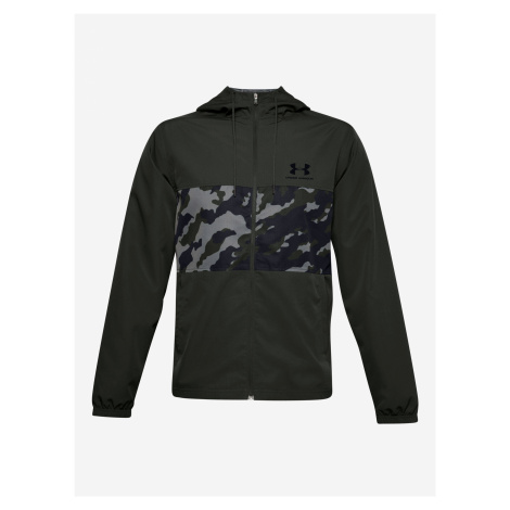 Sportstyle Wind Camo Bunda Under Armour Zelená