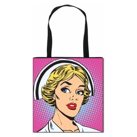 Dámská plátěná taška zdravotní sestra FashionEU