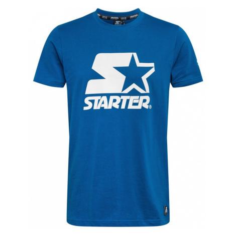 Starter Black Label Tričko nebeská modř / bílá