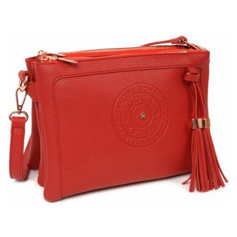 Červená crossbody kabelka Hampton  781b537ba05