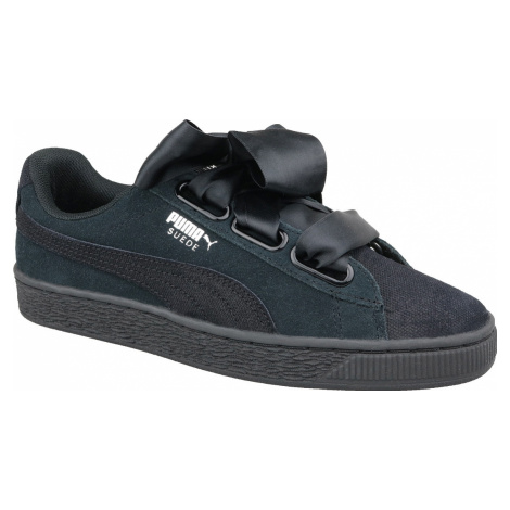 PUMA WNS SUEDE HEART PEBBLE 365210-04