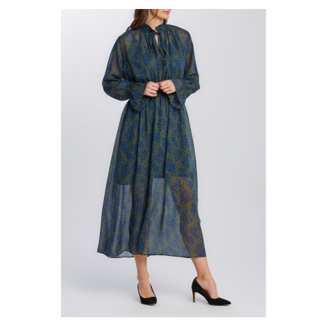 ŠATY GANT D2. FALL FLOWER CRINKLE DRESS