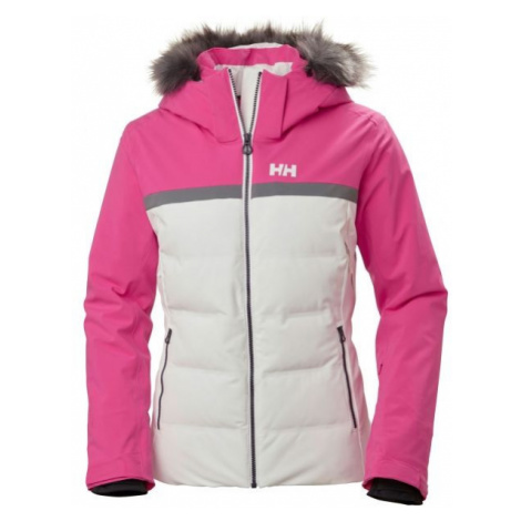 Helly Hansen POWDERSTAR JACKET W bílá - Dámská lyžařská bunda
