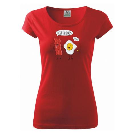 BFF slanina a vajíčko - Pure dámské triko