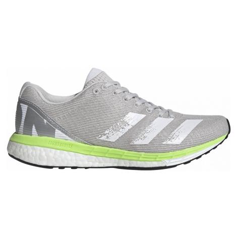Dámská běžecká obuv adidas adizero Boston 8 Šedá / Zelená