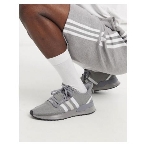 Adidas Originals u-path run trainers in grey