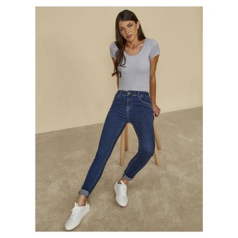 ZOOT modré slim fit džíny
