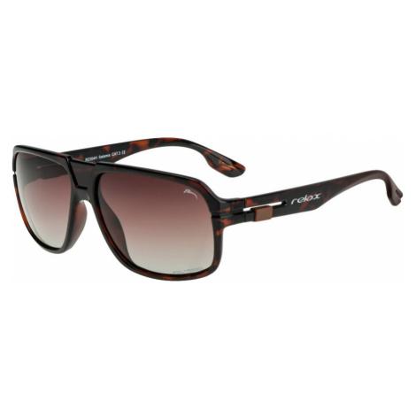 RELAX Salamis Sluneční brýle R2304H hnědá L