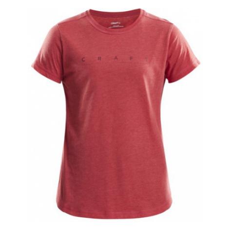 Dámské tričko CRAFT Deft 2,0 červená