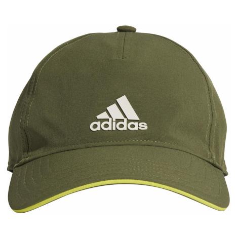 Dětská kšiltovka adidas AEROREADY Baseball Zelená