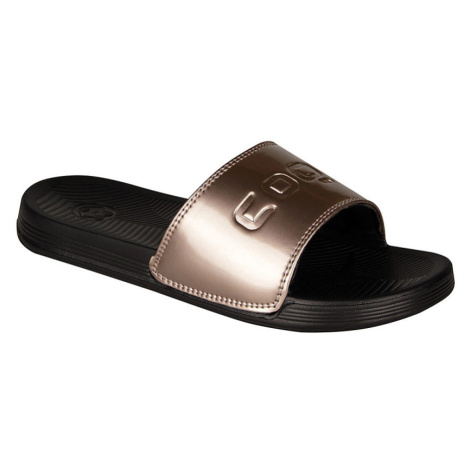 COQUI SANA Dámské pantofle 6343-565 Black / Bronze