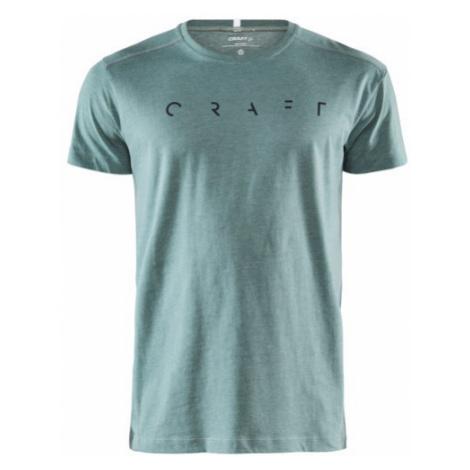 Pánské tričko CRAFT Deft SS zelená
