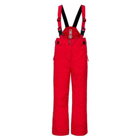 Lyžařské kalhoty Poivre Blanc JUNIOR červená