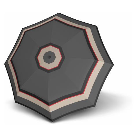 Šedý skládací automatický dámský deštník Luana Doppler
