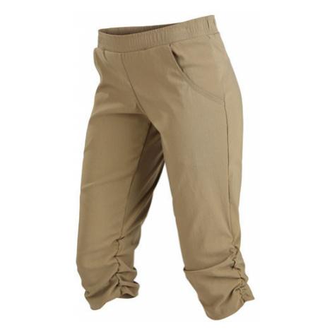 Dámské kalhoty bokové v 3/4 Litex 5A152 | hnědošedá