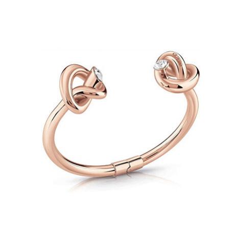 Guess rose gold náramek Knot