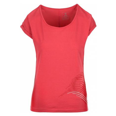 KILPI Dámské bavlněné tričko OLIVA-W JL0232KIPNK Růžová