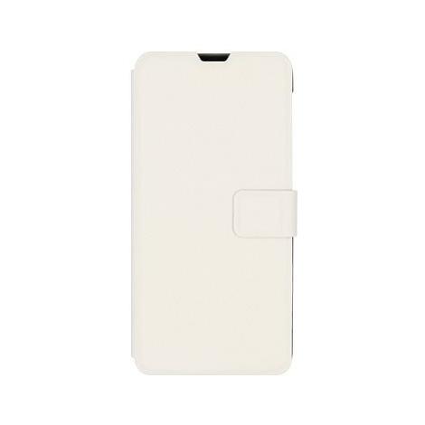 iWill Book PU Leather Case pro Samsung Galaxy M21 White