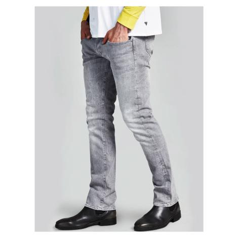 Guess pánské šedé džíny