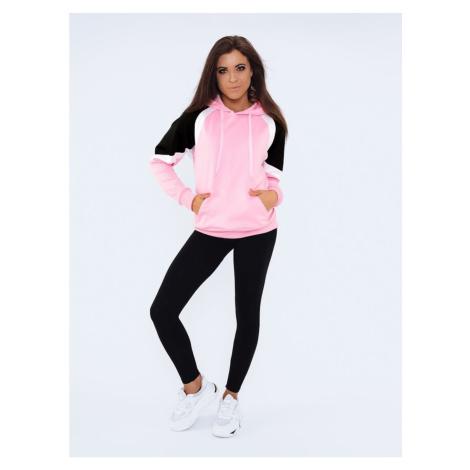 Women's sweatshirt DAAN pink Dstreet BY0986
