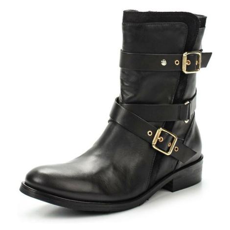 Tommy Hilfiger dámské černé kotníkové boty