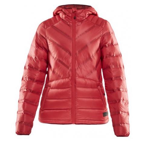 Dámská bunda CRAFT Lightweight Down červená