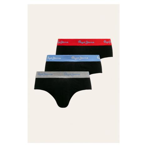 Pepe Jeans Pepe Jeans pánské spodní prádlo 3 Pack - černé
