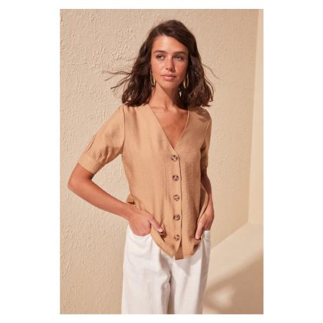 Dámská košile Trendyol Button Detailed
