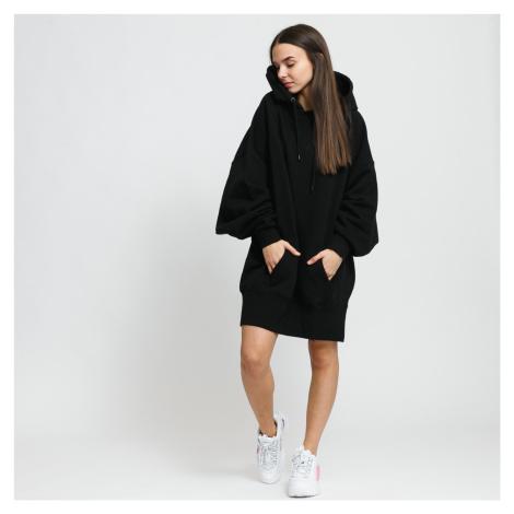 Urban Classics Ladies Long Oversize Hoody černá