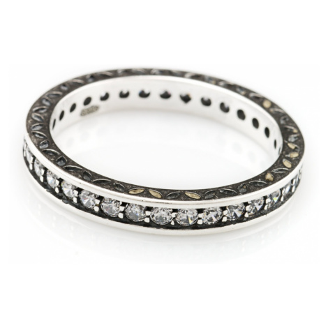 Linda's Jewelry Stříbrný prsten Shiny IPR005 Velikost: 54