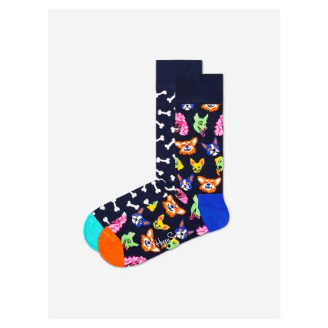 Dog Gift Box Ponožky 2 páry Happy Socks Barevná