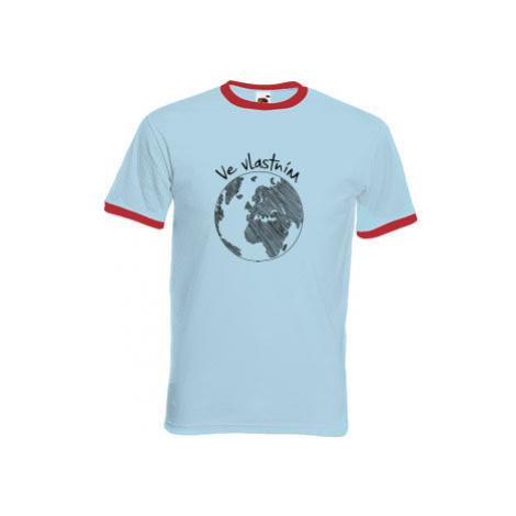 Pánské tričko s kontrastními lemy Ve vlastním