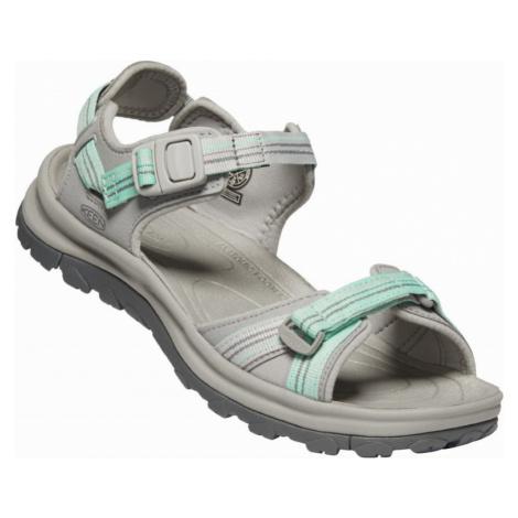 Dámské sandály Keen Terradora II Open Toe Sandal W light gray/ocean wave UK