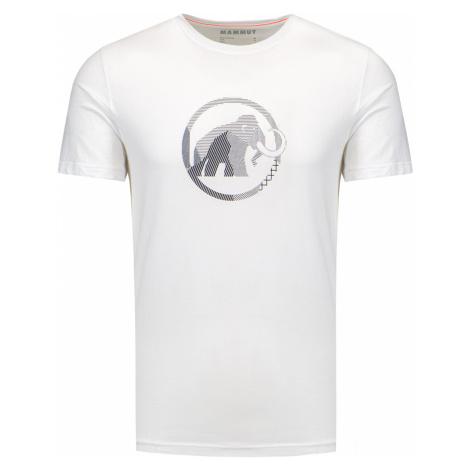 Tričko Mammut LOGO bílá