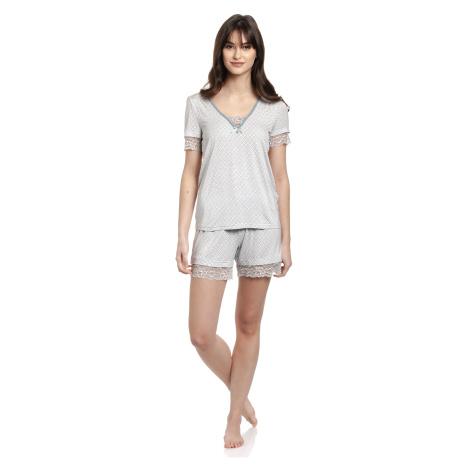 Dámské krajkové pyžamo Vive Maria Blue Sugar