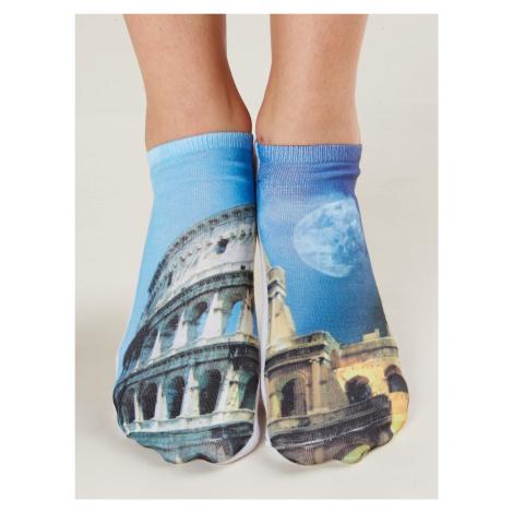 Nízké ponožky s potiskem FPrice