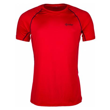 KILPI Pánské funkční tričko RAINBOW-M IM0057KIRED Červená