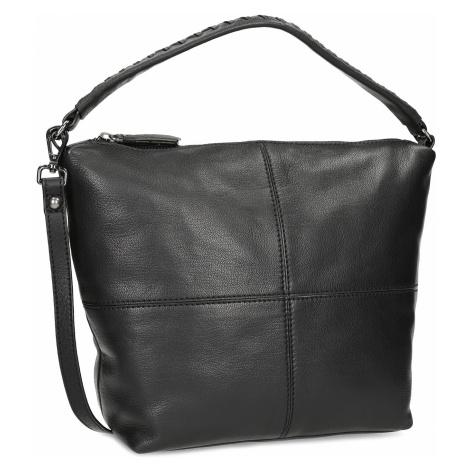 Kožená dámská černá Hobo kabelka Baťa
