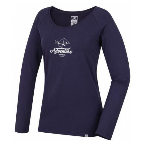 Dámské tričko Hannah Fabris nightshadow blue