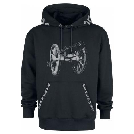 AC/DC Cannon Mikina s kapucí černá