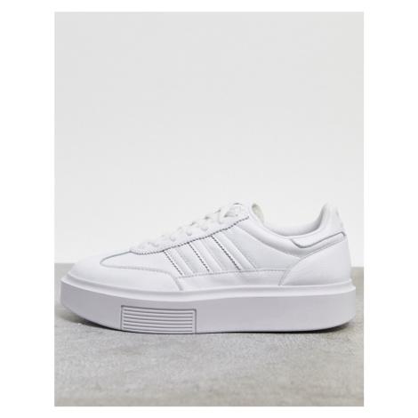 Adidas Originals Sleek 72 trainers in white