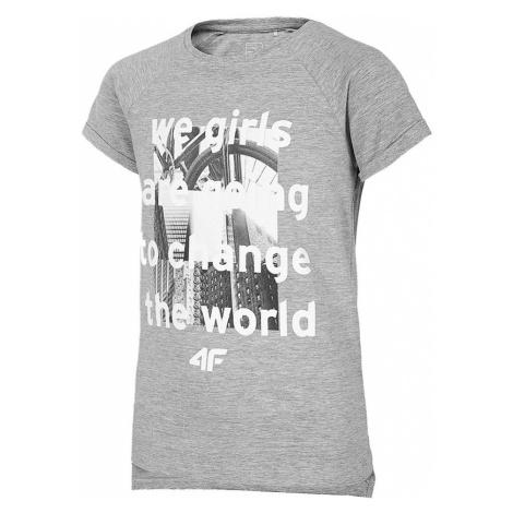 Dětské bavlněné tričko 4F