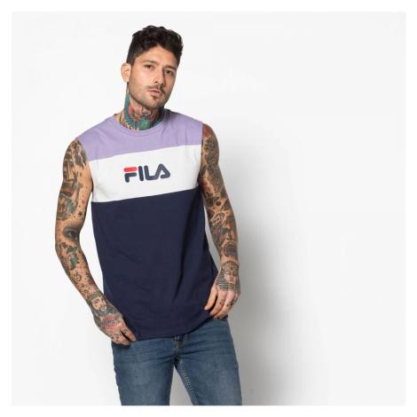 Tmavo-fialové tričko Level Fila