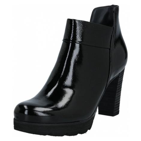 Paul Green Kotníkové boty černá