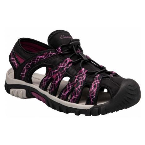 Crossroad MEMORA fialová - Dámské sandály