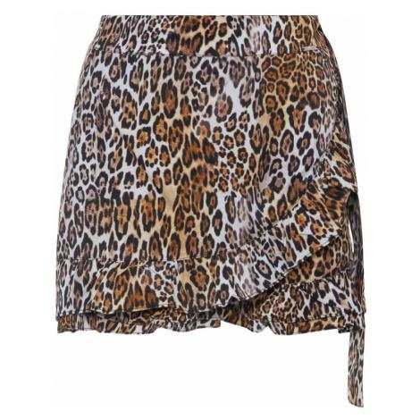 Guess GUESS dámské leopardí kraťasy Short Pant