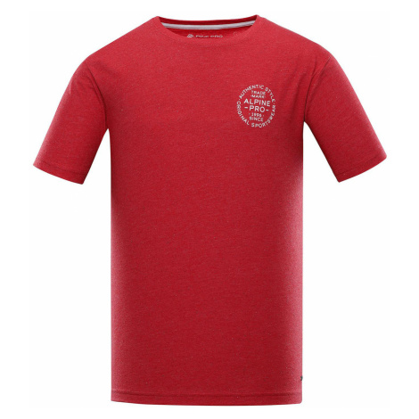 ALPINE PRO ROZEN Pánské triko MTST473445 purpurová