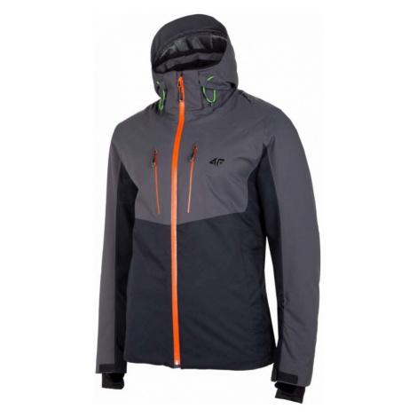 Pánská lyžařská bunda H4Z20-KUMN010-20S DEEP BLACK 4F