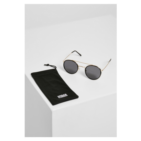 Sunglasses Palermo - black/gold Urban Classics